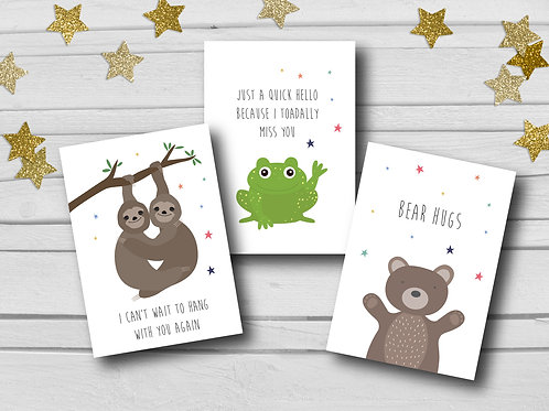 copy of Positive cards pack of 6