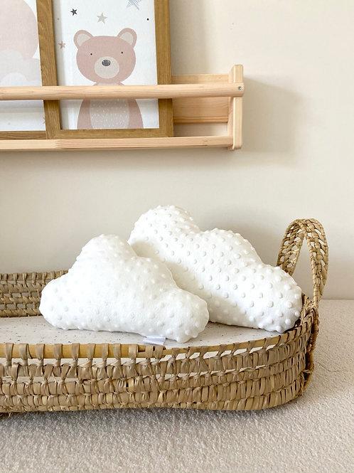 Cream cloud cushion set- small & large