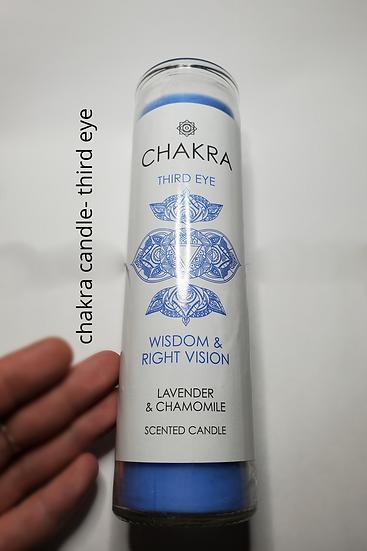 THIRD EYE CHAKRA CANDLE XL