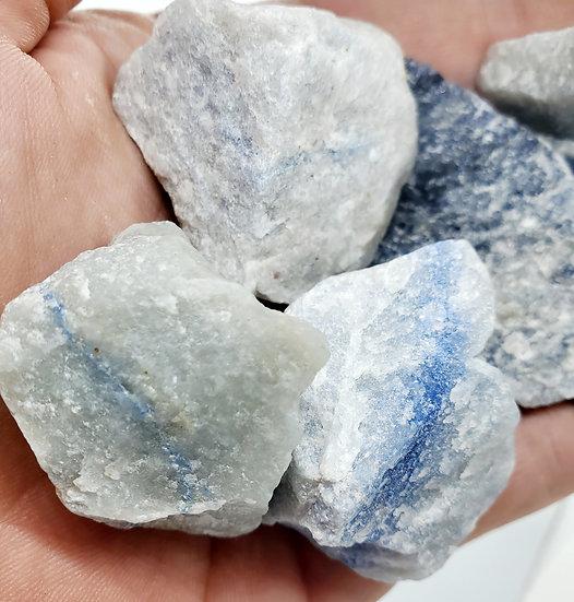 Rough Blue Quartz | Raw Blue Quartz