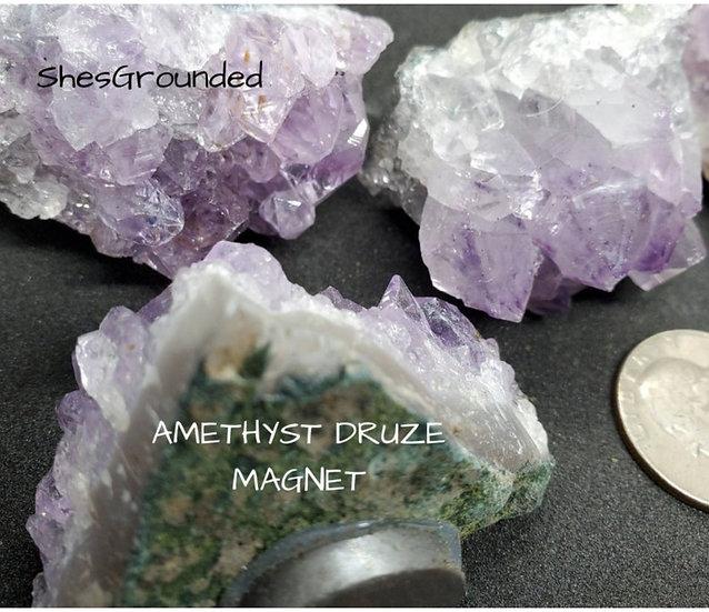 Amethyst Druze Magnet