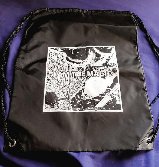 I Am the Magic Drawstring Backpack