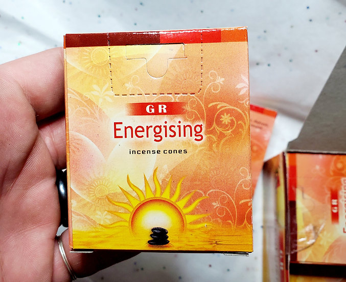 GR energizing Incense Cone Packs