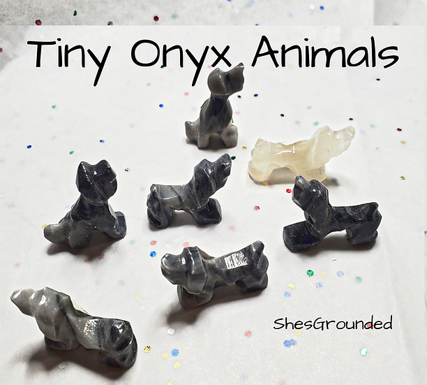 1 pc Tiny Onyx Dog