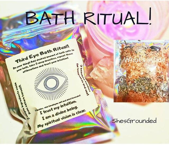 THIRD EYE BATH RITUAL