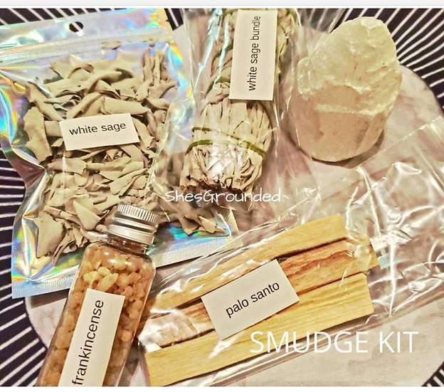 Smudge Kit with Selenite