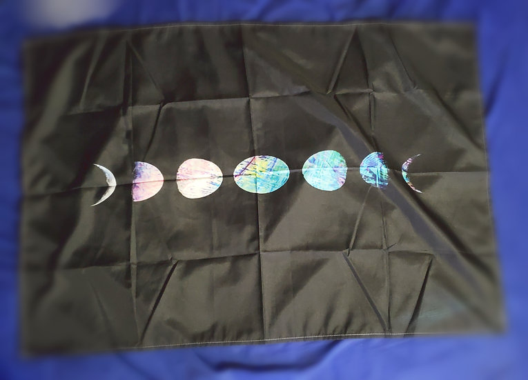 Mini Moon Phase Tapestry