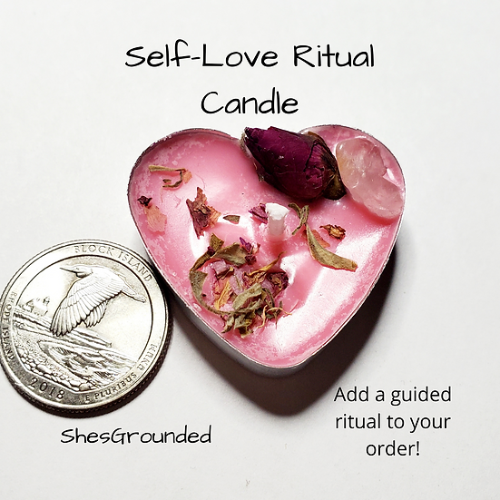 Self-Love Intention Candle