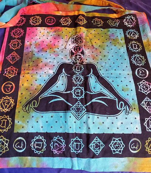 Thin Clothe Tote Bag XL Chakra Bag