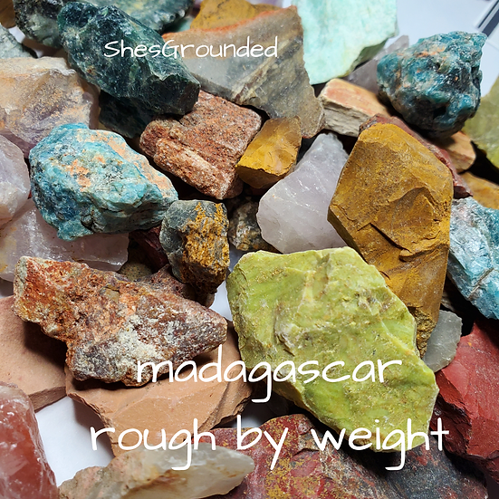 Madagascar Rough Stone by weight