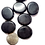 Thumbnail: Obsidian palm stone