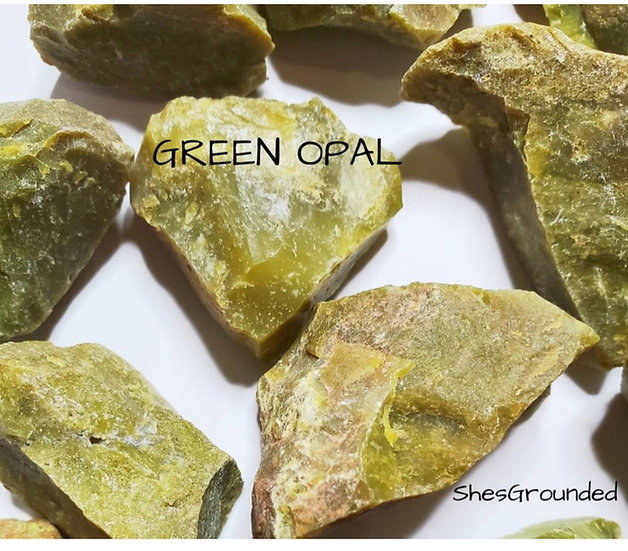 RAW GREEN OPAL