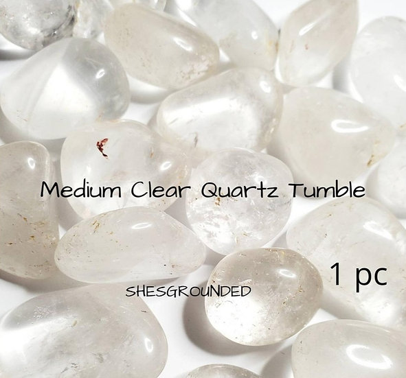 Clear Quartz Tumbled Stones