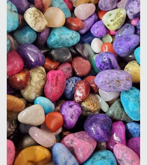 1/2 lb Mixed Colorful Gemstones