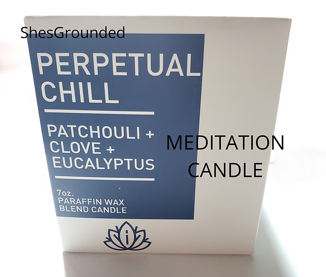 MEDITATION CANDLE | perperual chill