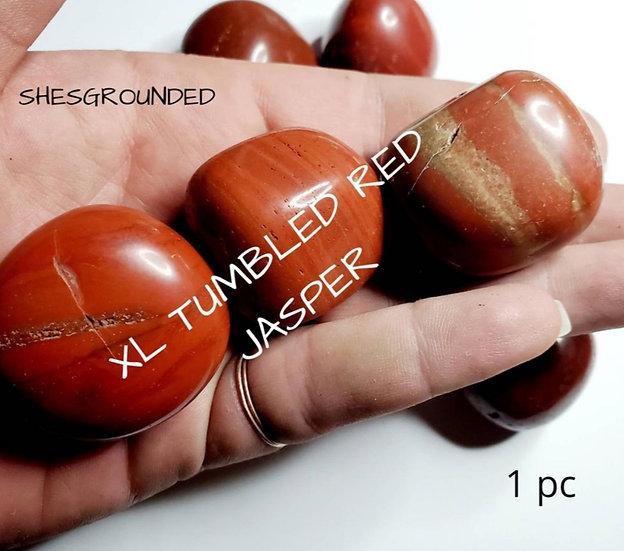 XL Red Jasper Tumble Stone
