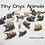 Thumbnail: 1 pc Tiny Onyx Elephant