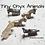 Thumbnail: 1 pc Tiny Onyx Horse