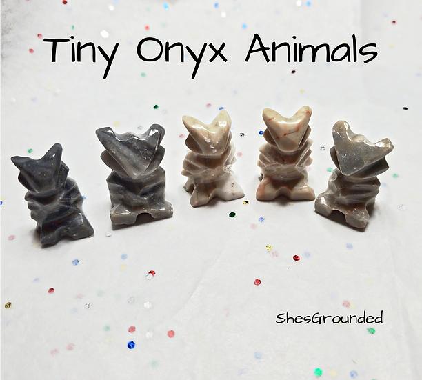 1 pc Tiny Onyx Owl