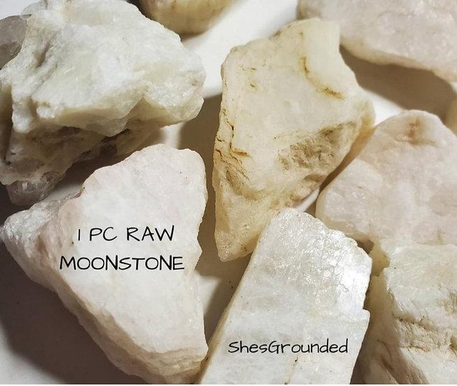 Raw Moonstone 1pc