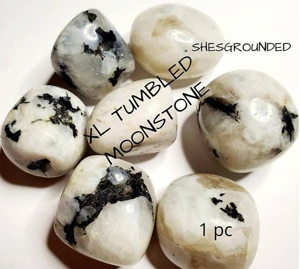 XL Rainbow Moonstone Tumble Stone