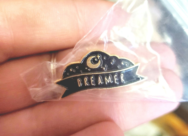 Dreamer pin | Universe Pin | Metaphysical Brooch | New Age Accessories