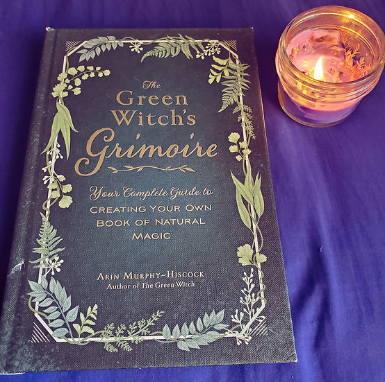 Green Witch's Grimoire Book