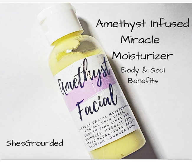 Amethyst Infused Facial Moisturizer