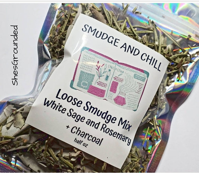 Loose White Sage and Rosemary