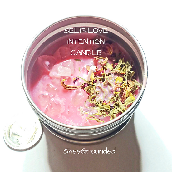 Self-Love Intention Candle 4oz