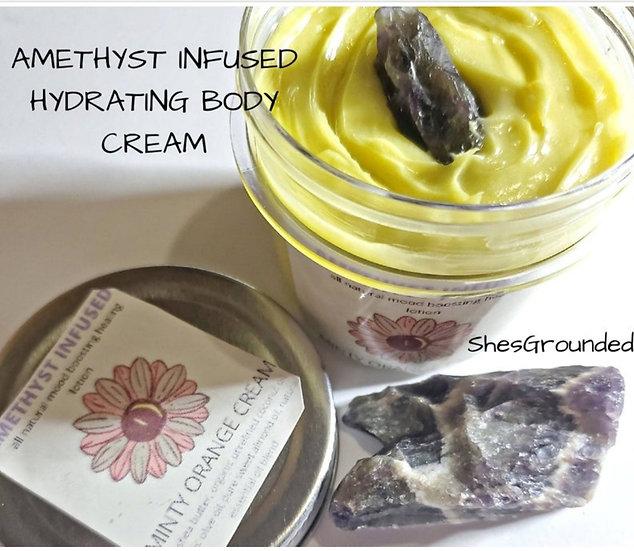Amethyst Infused Body Cream