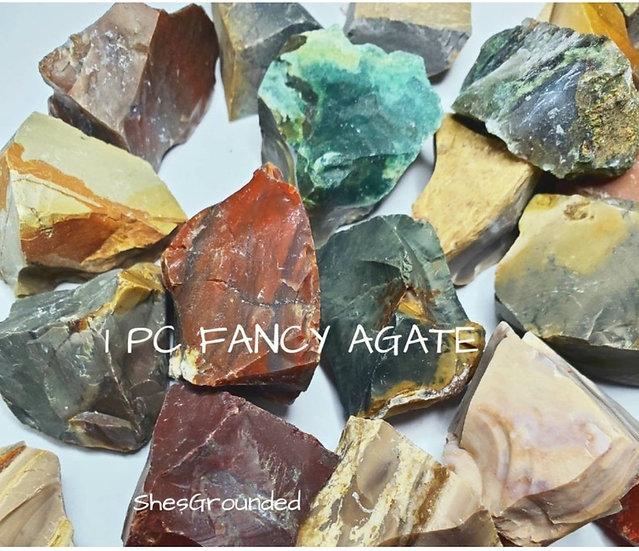 Fancy agate 1 pc