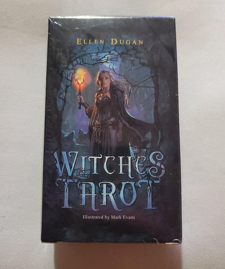 Witches Tarot   New Age Tarot Deck   Easy Shuffle Size