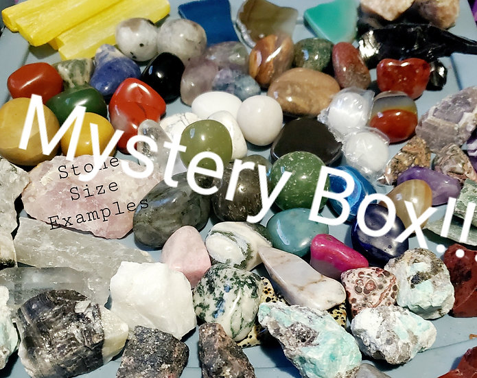 MYSTERY STONES- SURPRISE BOX