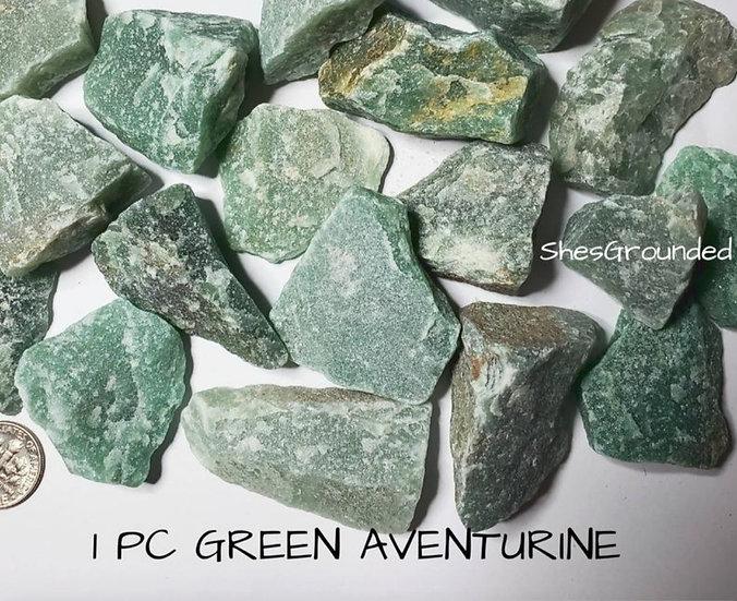 RAW GREEN AVENTURINE