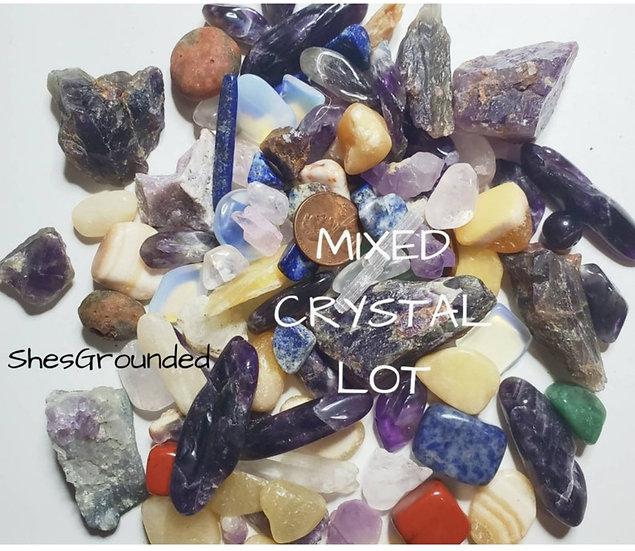 Mixed MINI crystal lot 1/4 lb mix