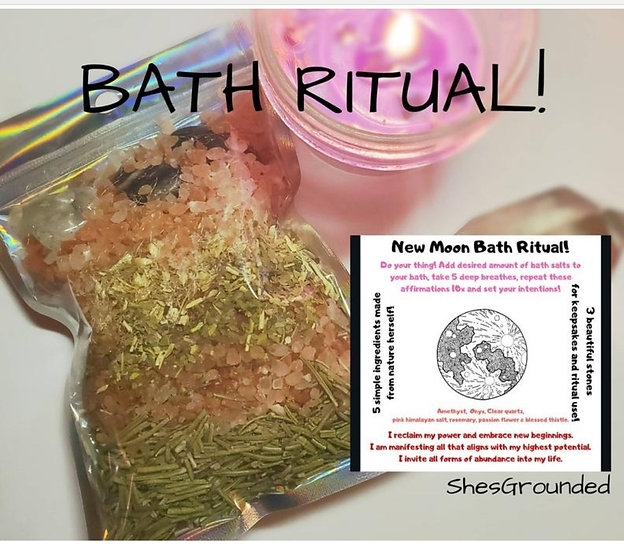 New Moon Bath Ritual