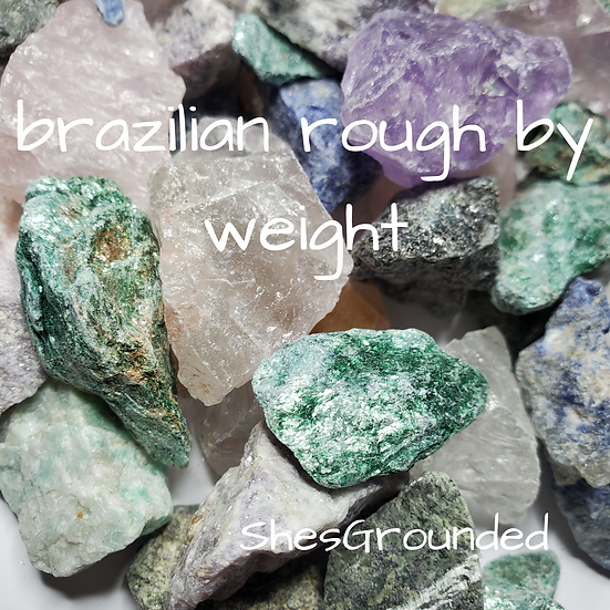 Brazilian Rough Stone by weight