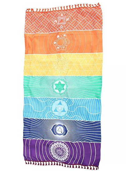 Chakra Tapestry/Beach Sheet