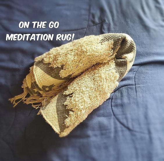 Large Meditation Rug
