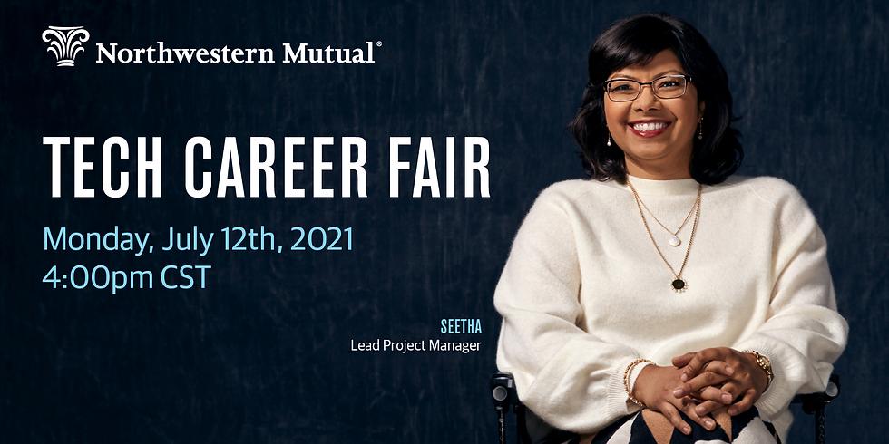 Northwestern Mutual Tech Career Fair   July 12, 2021