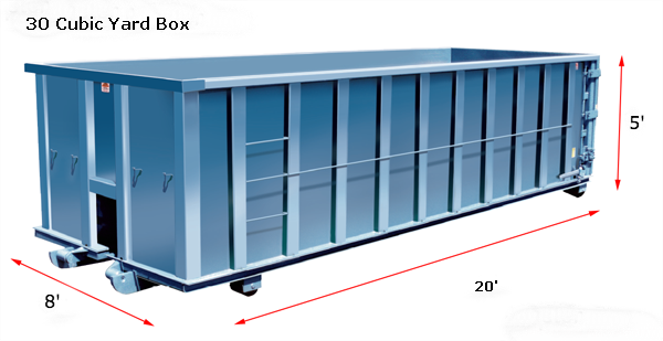 30 Cubic Yard Box