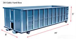 30 Cubic Yard Box