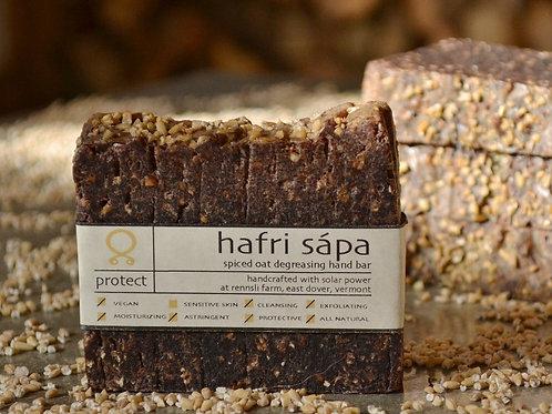 Hafri Sápa- Spiced Oat Exfoliating Hand Bar