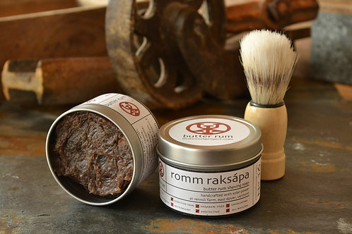 Romm Raksápa - Butter Rum Shave Soap