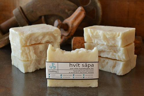 Hvít Sápa - Pure White Hypoallergenic Bar
