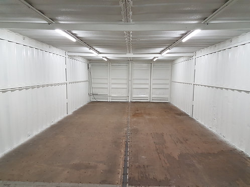 Double container open plan space
