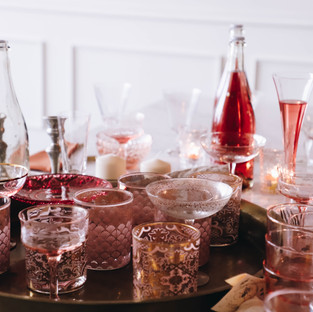 Crystal_glassware_wedding_Christchurch_dorset_Florist_jessicaHillier