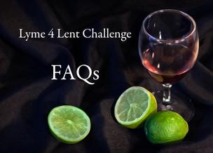 Lyme4Lent Challenge FAQs