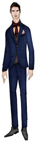 Ilustracion Moda Masculina